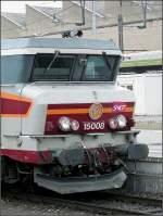 Diverses/5595/die-charakteristische-front-einer-nez-cass Die charakteristische Front einer 'nez cassé' fotografiert am 05.04.08 im Bahnhof von Luxemburg. (Jeanny)