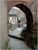 Touristen in Oberwesel.