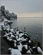 Diverses/173127/das-chteau-de-chillon-und-das Das Château de Chillon und das Ufer des Genfersee's wurden am 05.01.2010 zugeschneit.